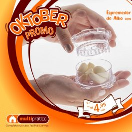 Imagem - ESPREMEDOR DE ALHO 0293 cód: 7899080902938