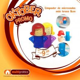 Imagem - LIMPADOR DE MICRO ONDAS MAE BRAVA 8CM cód: 7899850330831