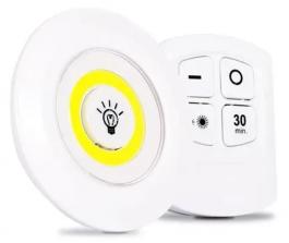 Imagem - LUMINARIA DE LED DE TETO TIPO SPOT COM CONTROLE cód: 7908166713716