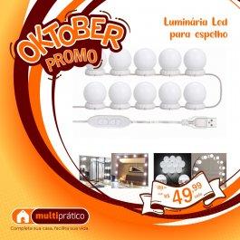 Imagem - LUMINARIA DE LED P/ ESPELHO cód: 7908166714072