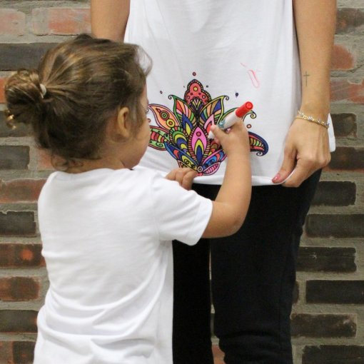 T-shirt  Mandala Personalizável