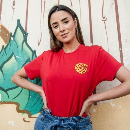 T-Shirt Viscose Adulto | Pizza