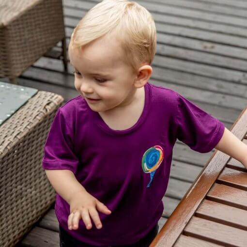 T-Shirt Viscose Infantil   Árvore de Pirulito