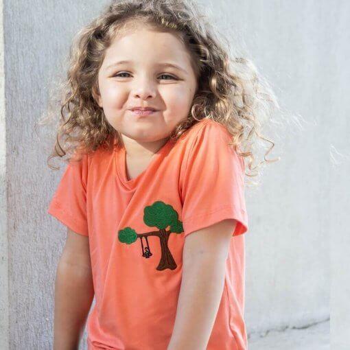 T-Shirt Viscose Infantil   Balanço