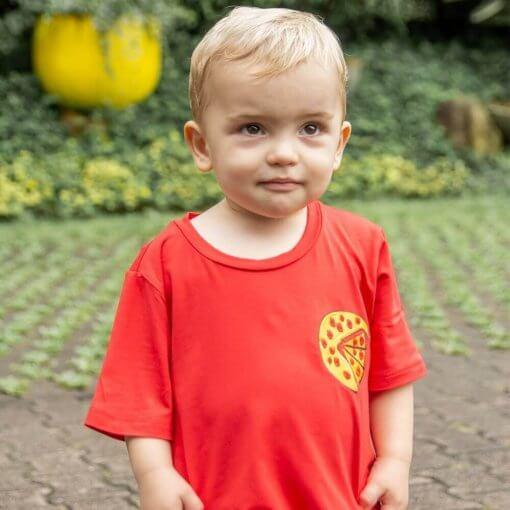 T-Shirt Viscose Infantil | Pizza