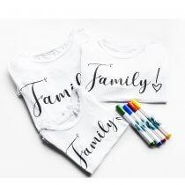 Imagem - T-Shirt Unissex Adulto - Family - 11289