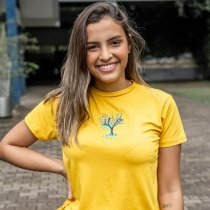 Imagem - T-Shirt Viscose Adulto |  Árvore colorida  - Arvore Colorida