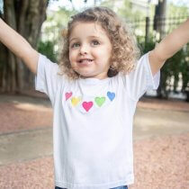 Imagem - T-Shirt Viscose Infantil | Coração - Coração