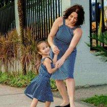 Imagem - Vestido Poa Bebê e Infantil - 9735