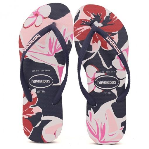 Chinelo Havaianas Slim Floral