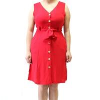 Imagem - Vestido Regata Com Cinto Loverly ref: W9612 C/CTO