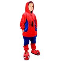 Imagem - Macacao Infantil Spiderman Zona Criativa ref: 10071145 7-8