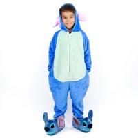 Imagem - Macacao Infantil Stitch Zona Criativa ref: 10071143 7-8