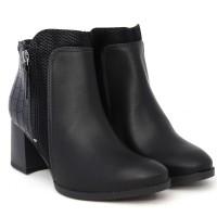 Imagem - Bota Dakota Ankle Boot Salto Medio ref: G2803-0001