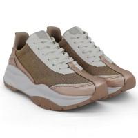 Imagem - Tênis Dad Shoes Brilhante Via Marte ref: 19-13672