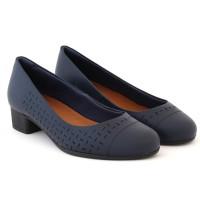 Imagem - Sapato Salto Baixo Feminino Usaflex ref: AB6805