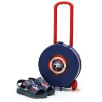 Imagem - Sandália Infantil Avengers Grendene ref: 21902