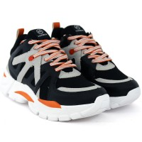 Imagem - Tênis Dad Shoes Preto Via Marte ref: 19-12175
