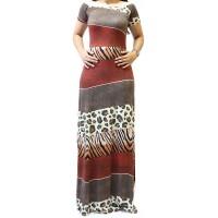 Imagem - Vestido Longo Estampado Nega Rio ref: 200352