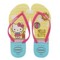 Imagem - Chinelo Slim Infantil Hello Kitty Havaianas ref: 4145748/0001
