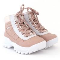 Imagem - Tenis Casual Cano Longo Pink Cats ref: V0463-0004