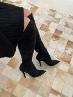 Imagem - Bota Over the Knee Preta Vizzano ref: 3061.101