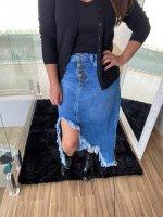 Imagem - Saia Jeans Revanche ref: 072757