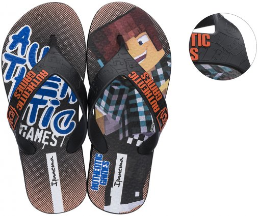 Chinelo Grendene Authentic Games 26306
