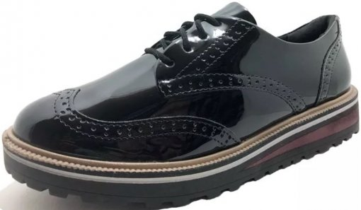 Sapato Oxford Ramarim Verniz 1990103
