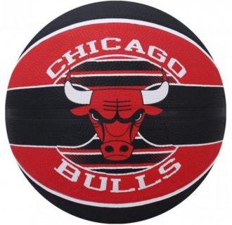 Imagem - Bola de Basquete Spalding Chicago Bulls 83503z