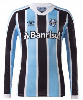 Imagem - Camisa Umbro ML Gremio Of.1 2021 S/N U31g025.312