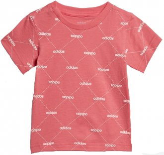 Camiseta Adidas Linear Graphic Infantil Ei7946