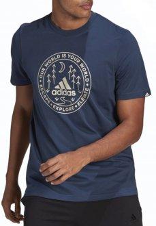 Imagem - Camiseta Adidas Estampada Explore Nature Gl2839