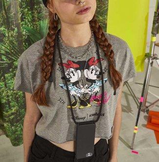 Imagem - Camiseta Cropped Colcci Fun Disney Estampada 034.53.00714