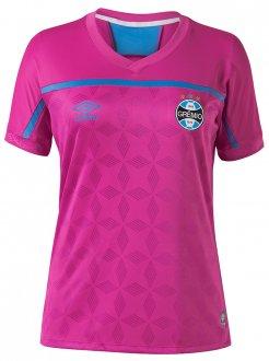 Imagem - Camiseta Fem. Umbro Gremio Outubro Rosa 2020 U32g514072.030