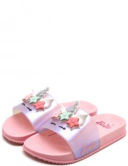 Imagem - Chinelo Barbie Slide Glam Inf 21689
