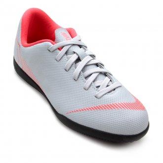 Chuteira Nike Jr. Mercurial Vapor 12 Club GS IC AH7354-070