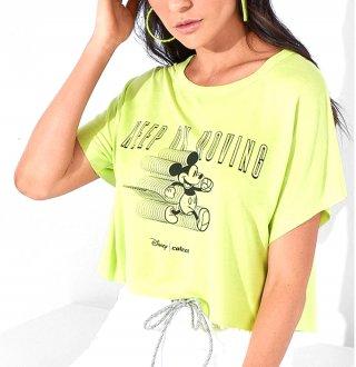 Imagem - Cropped Colcci Estampa Mickey Mouse 036.57.00523