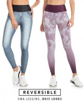 Fuso Live Rever Camuflage Jeans 61375