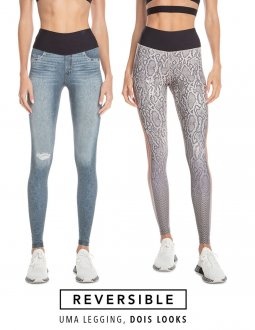 Fuso Live Reversible Jeans Animal 43245