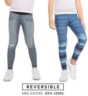 Imagem - Legging Live Dizzy Reversible Jeans Kids 43280