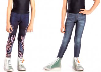 Imagem - Legging Live Reversible Denim Deep Garden Kids 43703