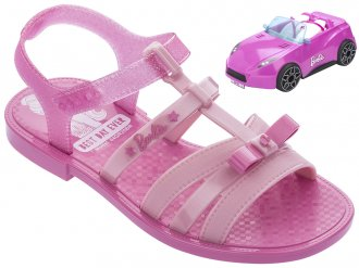 Sandalia Grendene Barbie Car 22166