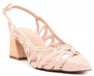 Sapato Cecconello Palha 1448006-1