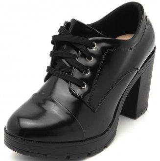 Sapato Oxford Facinelli Verniz 73071