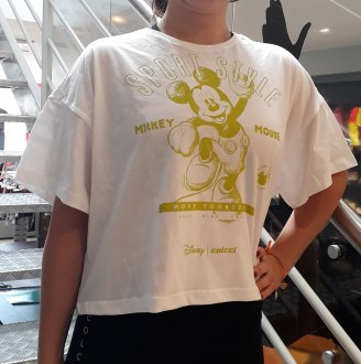 T-shirt Colcci Estampa Mickey Mouse 034.57.00285