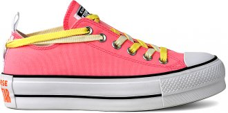Tenis All Star Flatform Neon Ct13330001