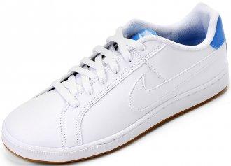 Tênis Esportivo Nike Feminino Material Couro
