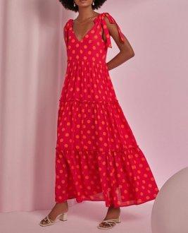 Vestido Esmeral Poa 33646