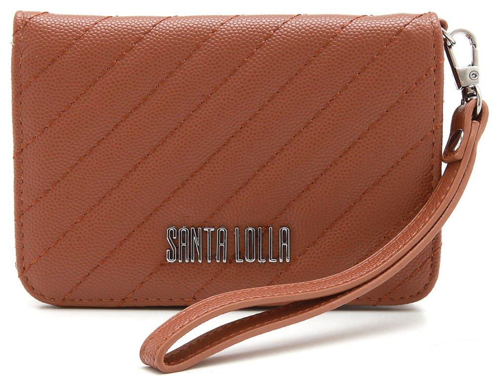 027cf0d10 Carteira Santa Lolla Matelassê 04711e8a
